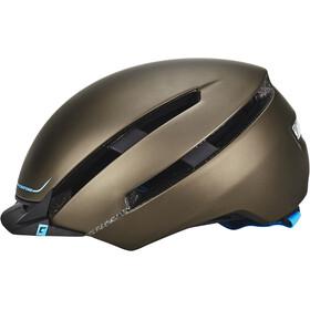 Cratoni C-Loom Helmet brown-blue rubber